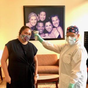 Dentists in Masks for Office Safety